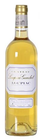 Bouteille de vin blanc moelleux Château Loupiac-Gaudiet