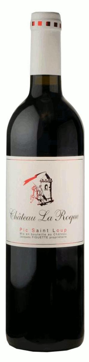 Bouteille de vin rouge Château LA ROQUE
