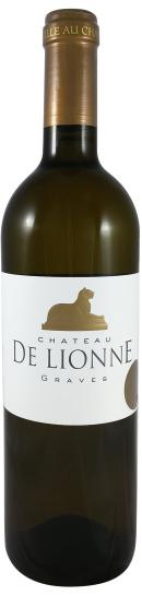 bouteille vin blanc sec De Lionne